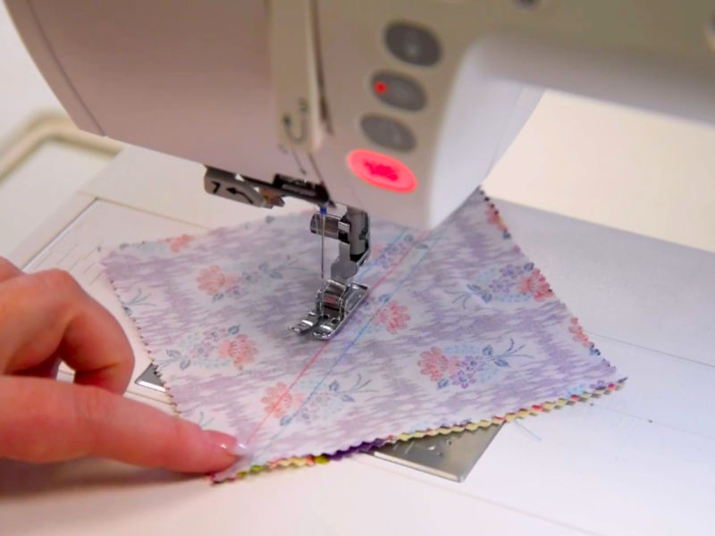 Janome quarter inch sewing foot tips from GUR Sewing Machines