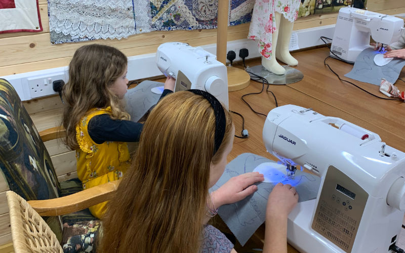Nanny Kims Sewing Bee runs classes for adults as well as children