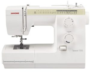 Why the Janome 725S is perfect for patchwork quilting and home furnishing