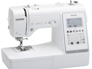 The Brother A150 ideal creative machine with a huge choice of stitches plus lettering