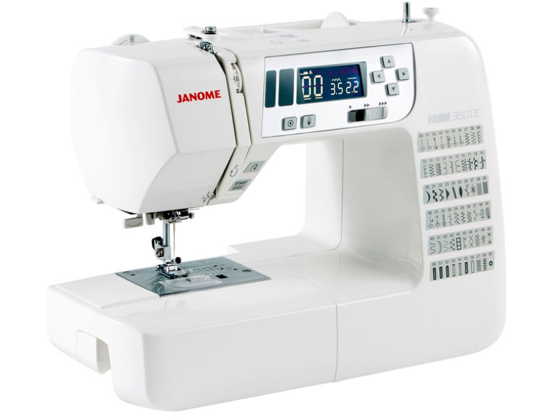 This Janome sewing machine is perfect for quilting and patchworking