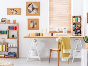 Tips on organising your sewing room from GUR Sewing Machines