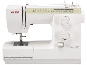 The Janome Sewist 725S sewing machine from GUR