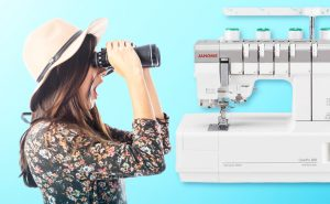This Janome CoverPro 3000 Professional sewing machine is arriving in September