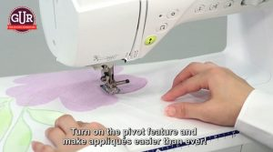 Brother sewing machines are availble from GUR
