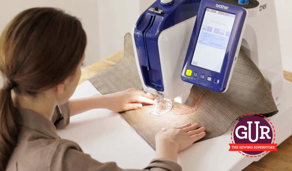 Buy the Brother VR Embroidery Machine from GUR