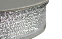 Haberdashery All Metallic Ribbon 26mm
