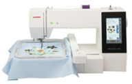 Janome Embroidery Hoops & Attachments for MC500E + MC400E