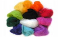 Haberdashery Natural Wool Roving