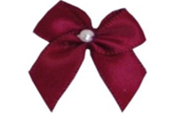 Haberdashery Pearl Crossover Bows