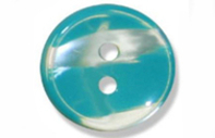 Haberdashery Polyester Stripe Buttons 12mm