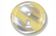 Haberdashery Polyester Stripe Buttons 15mm