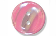 Haberdashery Polyester Stripe Buttons 18mm