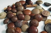 Haberdashery Wooden Buttons