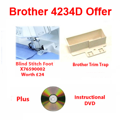 Brother 4234D Overlocker Offer