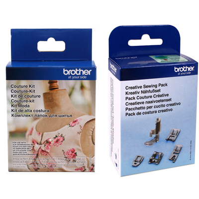 Brother Couture Kit & Creative Sewing Pack