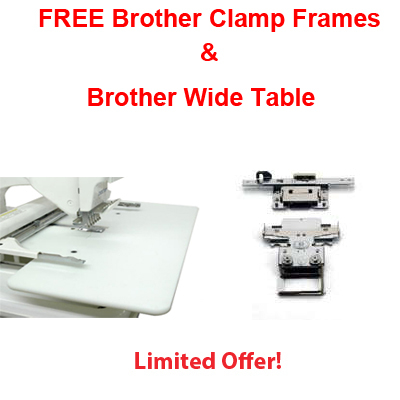 FREE Clamp Frame AND Wide Table