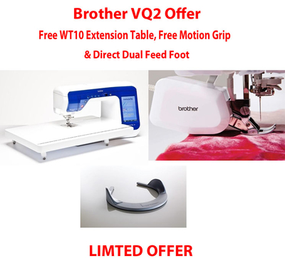 Brother VQ2 Offer!