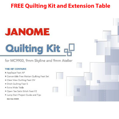 Janome JQ7 Quilting Kit Offer