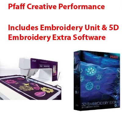Pfaff 5D Embroidery Extra & Embroidery Unit Software Offer