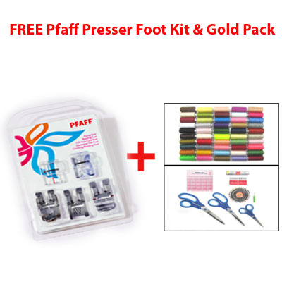 Pfaff Presser Foot Kit & Gold Pack