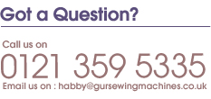 Got a Question about Haberdashery?