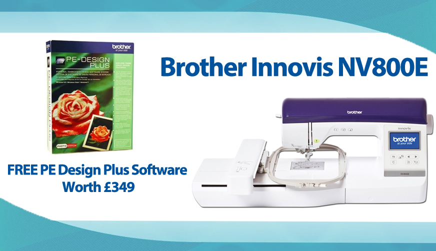 Brother Innovis NV800e Banner