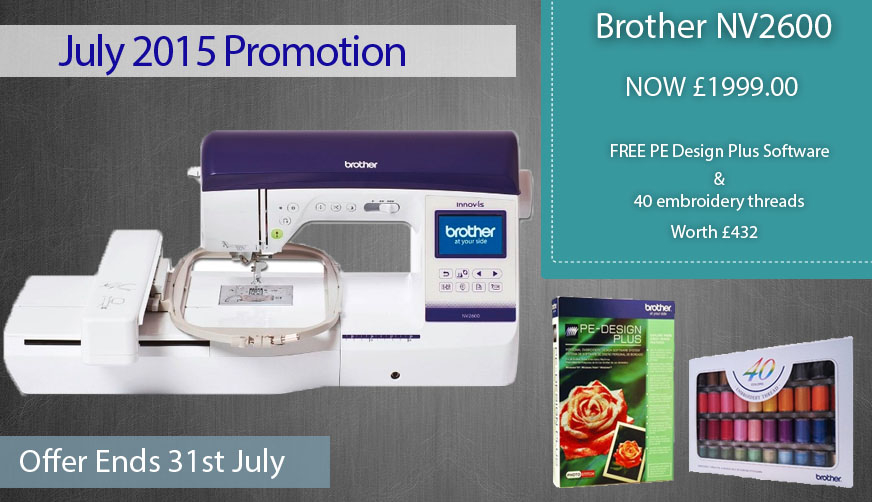 Brother NV2600 Offer