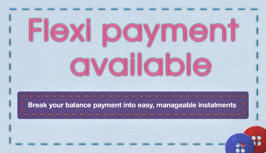 GUR Flexi Payment Available