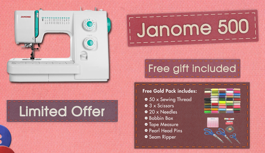 Janome 500 Banner