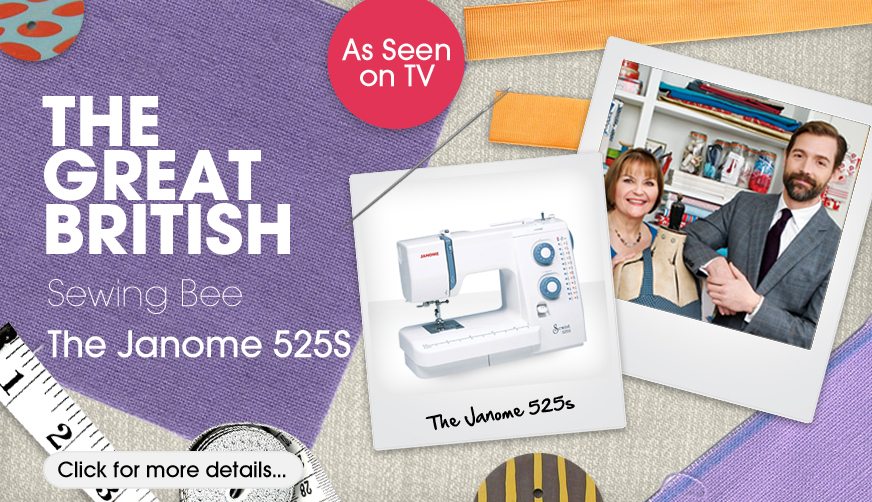 Janome 525s British Sewing Bee