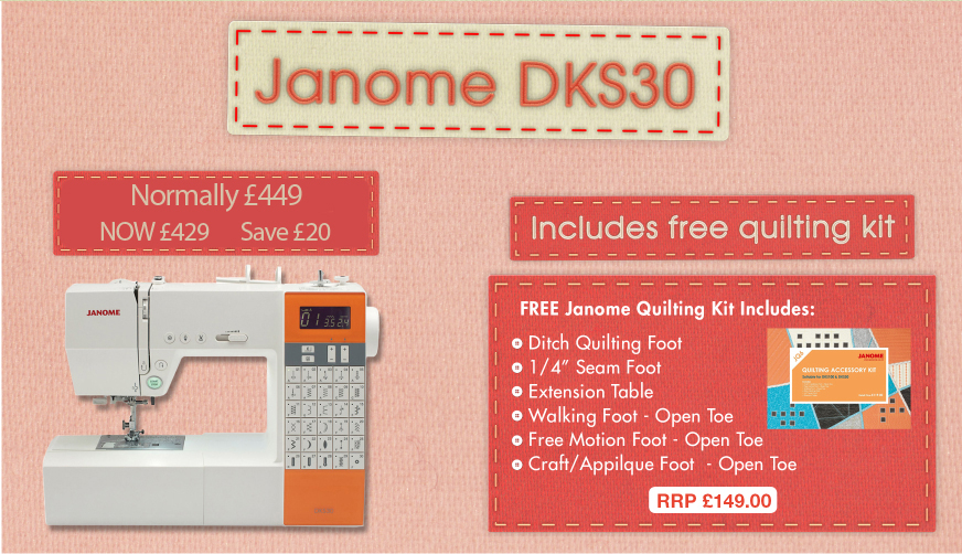 Janome DKS30 Offer