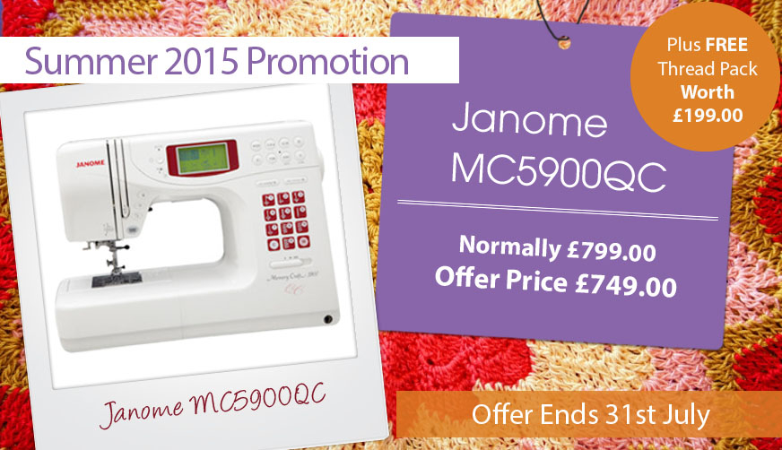 Janome MC5900QC Offer