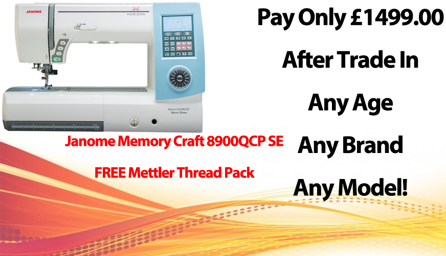 Janome MC8900QCP SE Offer