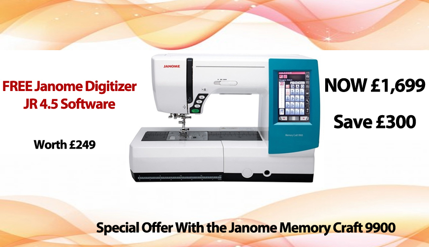 Janome MC9900 Offer