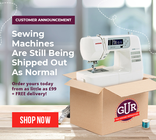 sewing as normal