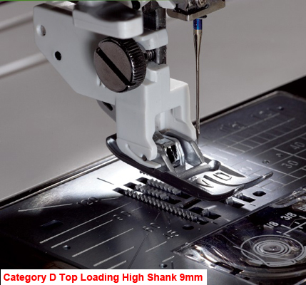 Janome Acufeed Straight Stitch Foot STD (Cat D)