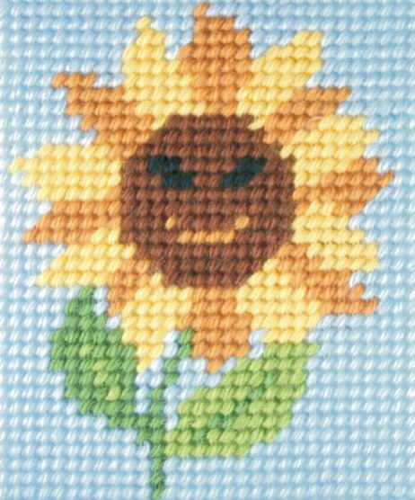 Orchidea Sunny Sunflower Embroidery Kit - Clearance