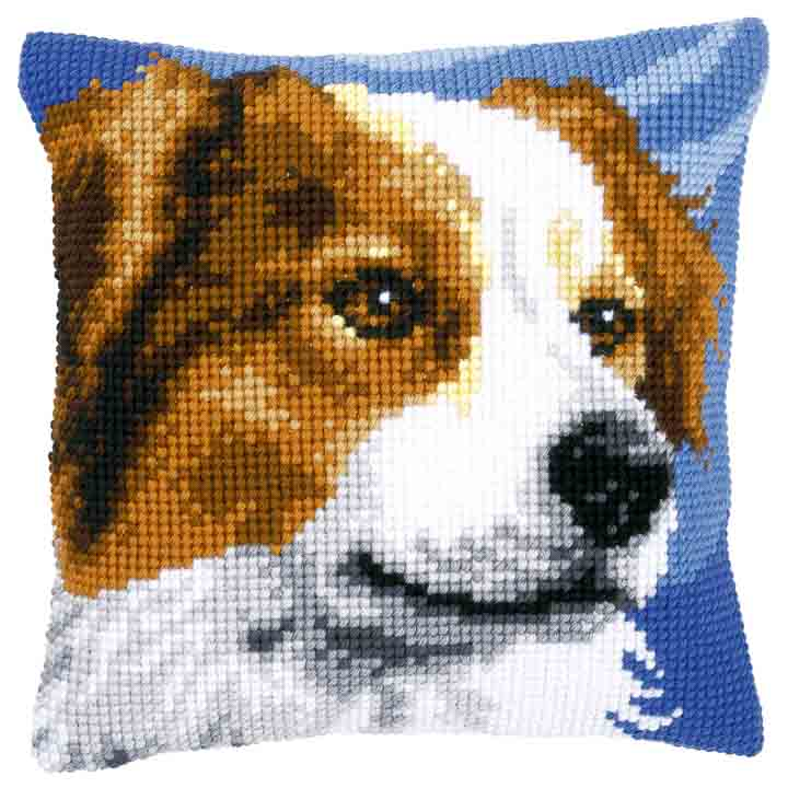 Vervaco Cross Stitch Cushion: Border Collie