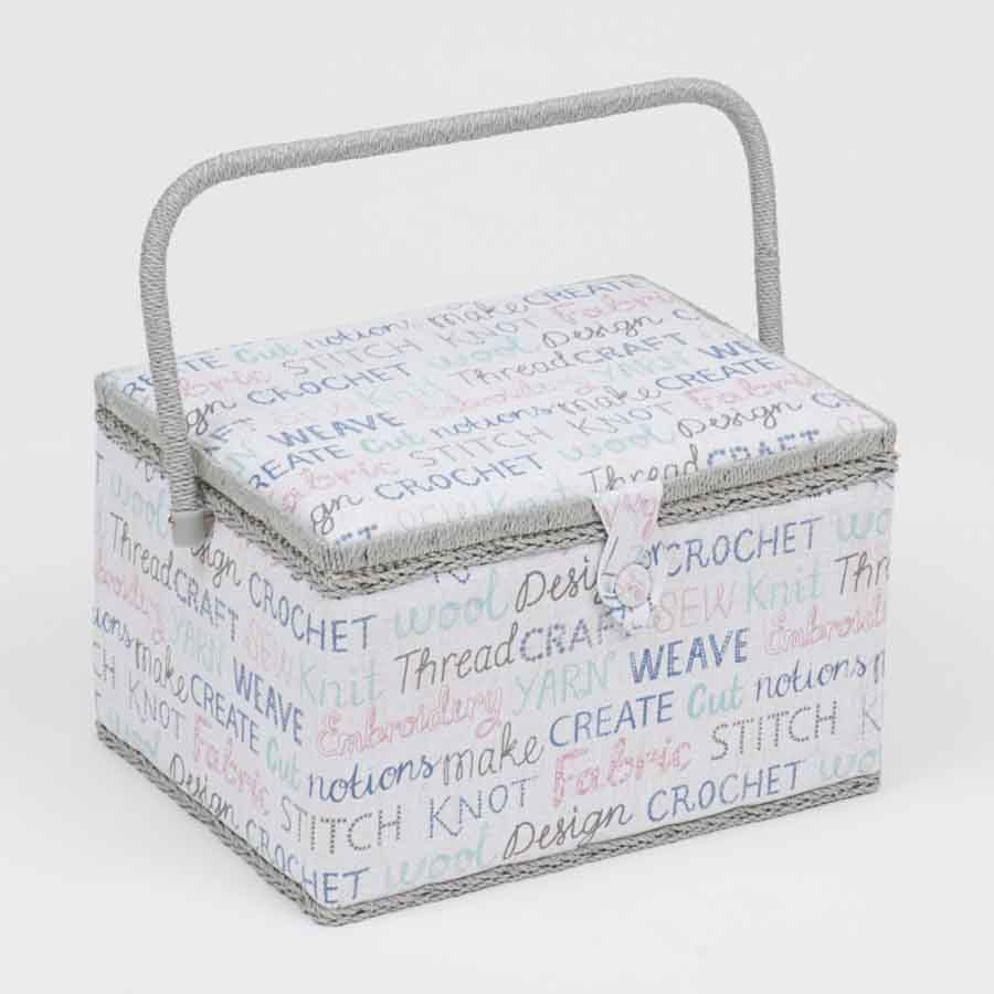 HobbyGift Sewing Box: (L): Haby Words | MRL_439