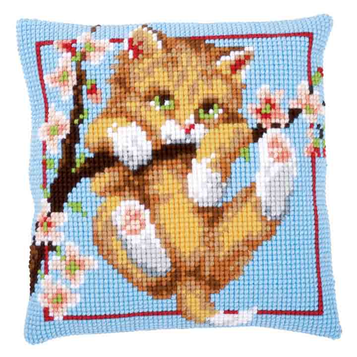 Vervaco Cross Stitch Cushion: Hanging