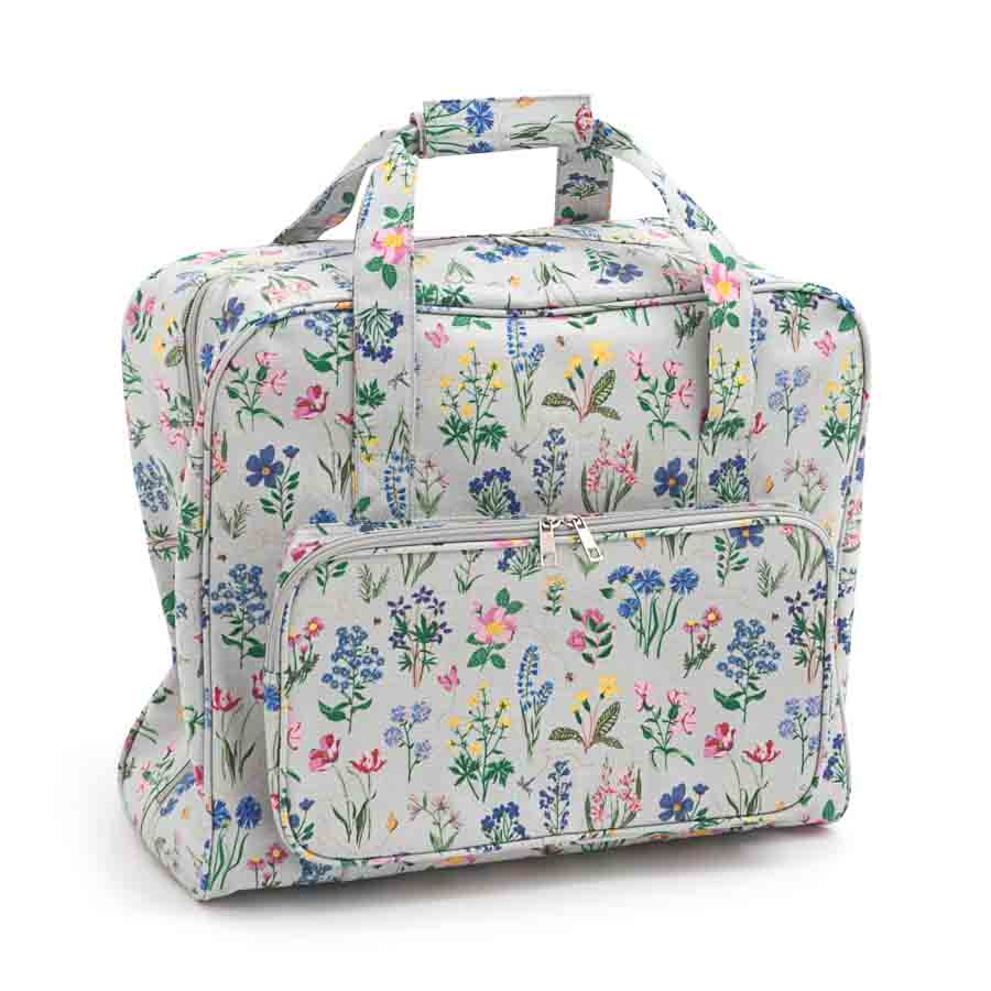 HobbyGift Sewing Machine Bag: Matt PVC: Spring Garden | MR4660_272