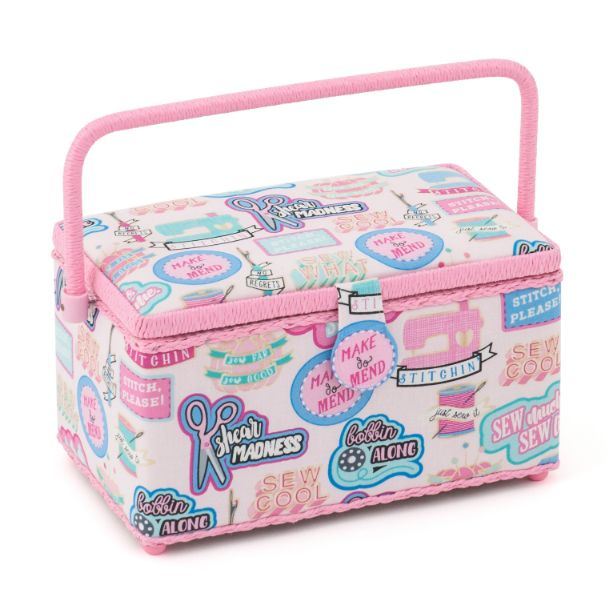 HobbyGift HGLD_510 | Sewing Box Deep | Sew Cool