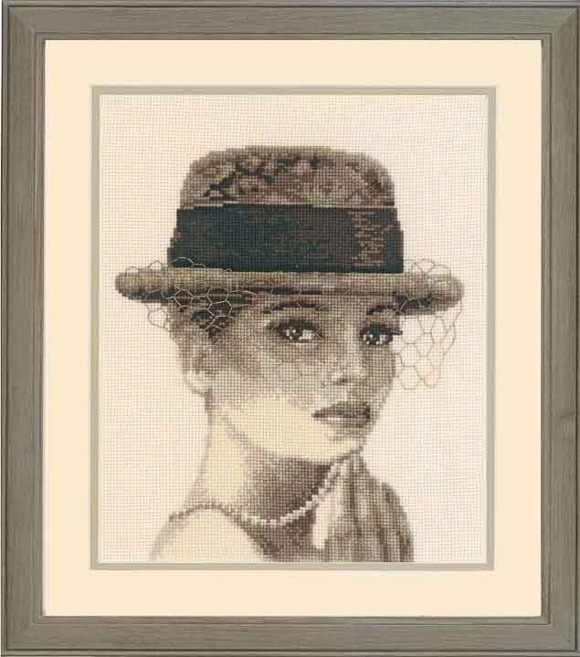 Counted Cross Stitch Kit: Ascot Beauty & Love CSK