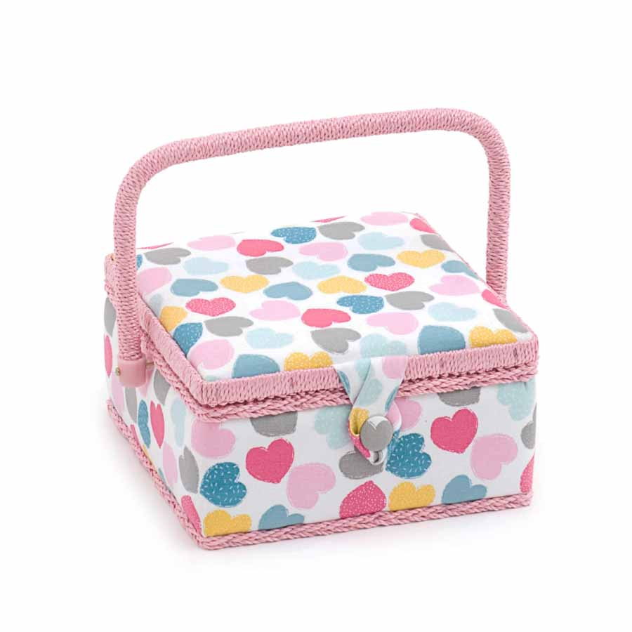 HobbyGift MRS_276 |Sewing Box (S): Square: Love