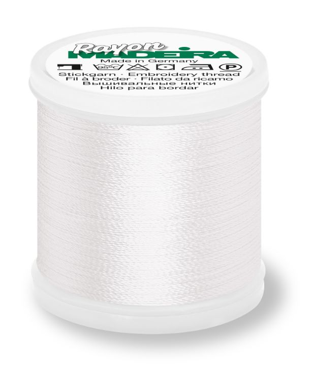 Madeira 9841_1001 | Rayon Embroidery Thread 1000m