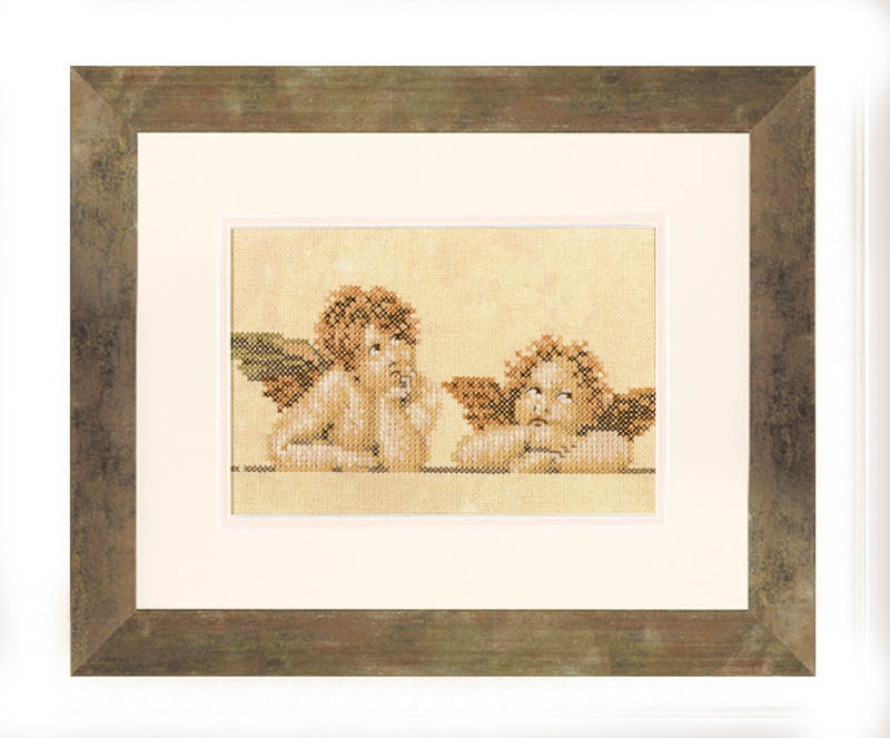 Lanarte Counted Cross Stitch Kit: Raphael Characters