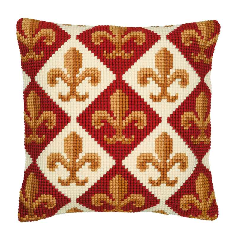 Vervaco Cross Stitch Cushion Kit: Geometric Design Patterns CSCK