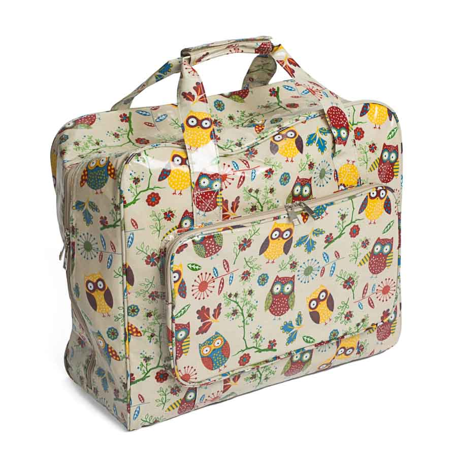 HobbyGift MR4660_29 | Sewing Machine Bag | PVC | Owl