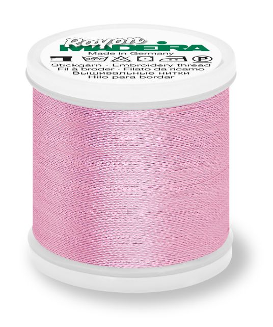 Madeira 9840_1120 | Rayon Embroidery Thread 200m | Light Pink Madeira Rayon Embroidery Thread 200m